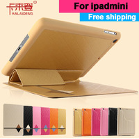 Original kalaideng for Apple ipad mini leather case, 7.9 inch Ultra Thin multifunctional leather case/bag Free shipping