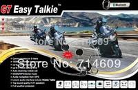 Updated! bluetooth motorcycle interphone intercom BT  communication headset G7 with radios