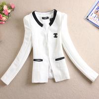 Free Shipping New 2014 Spring And Summer Fashion Women Slim OL Elegant Blazer Suit Female Outerwear Women Jacket Coat