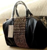 Mango women's handbag mng bag mango metal rivet women's handbag bag shoulder bag free shipping YHZ136