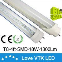 led t8 tube 1200 mm free shipping led 18W 20W 120cm t8 led tube High brightness SMD2835 23Lm/led 96led/pc 1800Lm AC85-265V