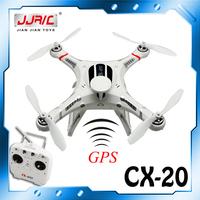Free Shipping CX-20 Pathfinder RC Quadcopter cx20 GPS Control can carry a Gopro to take video VS DJI Phantom QR X350 V303