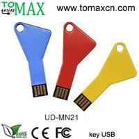 Free shipping Free custom logo Key USB flash drive, USB pendrive Genuine full memory  1GB/2GB/4GB/8GB/16GB/32GB