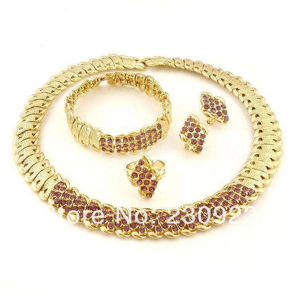 2014-24-carat-gold-jewelry-sets-Pakistani-bridal-dubai