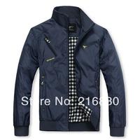 New Spring 2014 brand Jacket for Men Turn-down Collar Men's Casual Blazer Slim Style jackets for men coat men's clothing