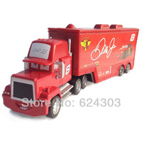 Pixar Cars 2  toys # 8 Dale Earnhardt Jr truck Hauler ALLOY Diecast toys for children gift