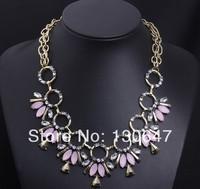 Design Flower Pendant Necklace For Women Choker Statement Necklace Fashion Chain Brand Necklaces & Pendants Jewelry Wholesale