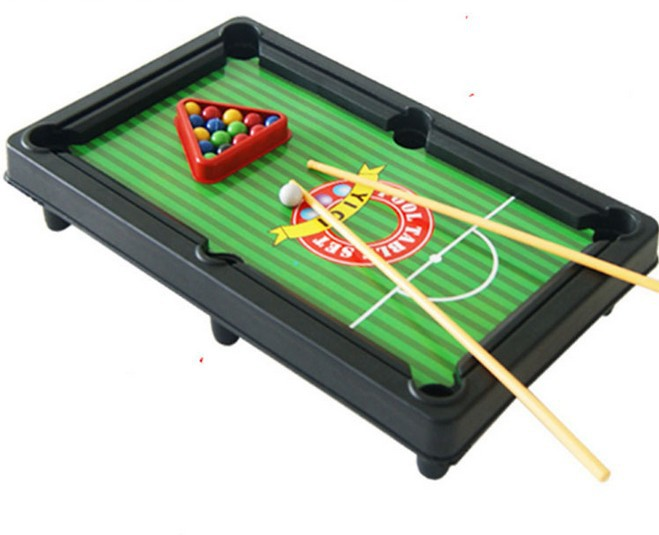 2014 learning & education Children's mini snooker billiards table boys toys intellectual development of safety math games(China (Mainland))