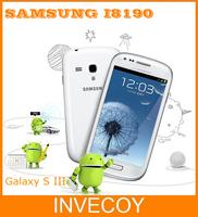 Mini S3 original I8190 mini S3 mobile phone 5MP Wifi GPS android Dual-core 8GB 4inch freeshipping