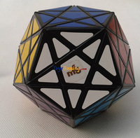 wholesale 6pcs/lot MF8 Starminx Magic Cube MF8 Corner Turning Dodecahedron Twist puzzle Educational toy +Free Shipping