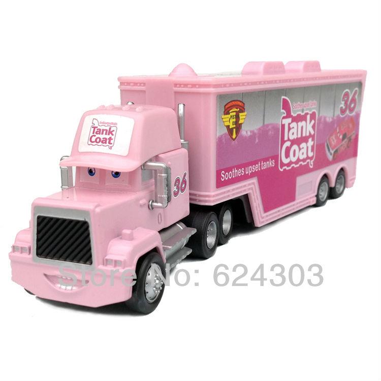 Pixar Cars 2 toys # 36 TANK COAT truck Hauler Diecast Metal toys for children gift(China (Mainland))