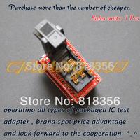 Clamshell MSOP8 to DIP8 adapter CNV-MSOP-8 programmer adapter  Pitch=0.65mm