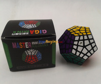 wholesale 4pcs/lot MF8 Master kilominx Magic Cube 4x4 Megaminx 4 layer Twist puzzle Educational toy Free Shipping