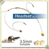 Free shipping Headset Microphone For EW100 EW300 EW500  G2 G3 wireless Body-Pack Transmitter