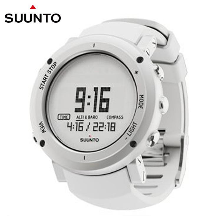 Suunto core alu pure white silvery white aluminum watch 2012(China (Mainland))