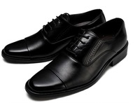 in stock! Large Size! 2014 new men oxfords shoes men dress shoes genuine leather shoes business shoes, size:38-47 hot sale!