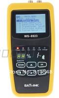 "Free shipping  2.1"" Satlink WS-6923 Satellite Finder Digital Satellite Finder Meter sat-link WS6923 satfinder"