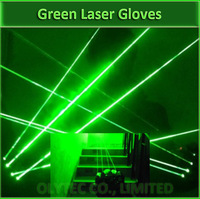 Green Laser Gloves With 3pcs 532nm 60mW Laser ,Stage Gloves For DJ Club/Party Show