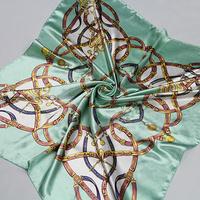 Free shipping! HOT2014 new spring and summer a big size 90*90cm women silk scarf female shawl scarf