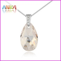 Free Shipping New Drop Crystal Necklace Made With Swarovski Elements Crystallized #104299