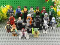 The Star Wars Action Figures Vs Green Lantern 20pcs/set Aliens Figures Avengers Toy Super Hero Marvel MIni Figures Doll