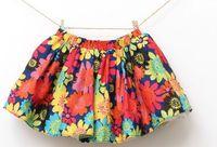 Korean summer hot sell baby beautiful lace Gorgeous waist skirt 5pcs/lot size 90-130cm