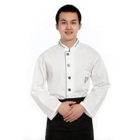 10sets [Top-Apron] Work wear clothes cook suit  clothing cook  chef coats hotel uniforms chef assistant clothes wholesale