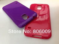 Soft TPU Case Cover for Samsung S5 I9600, 50pcs free DHL/EMS