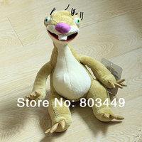 Retail  1 pc ! New 2014  Children's toy  Ice age 4  PAWS ground sloth sid   plush dolls Plush toys RR05