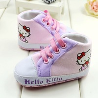New Arrival 3 Pairs/Lot Sky Blue Baby shoes casual cotton shoes children's pre walker shoes new born shoes A56-P