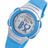 2014 free shipping Electronic watch boy child women's fashionable casual jelly the trend of the outdoor waterproof sports watch