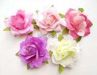 Simulation DIY pectoral flower hairpin rose decorative flower flowers, silk flowers
