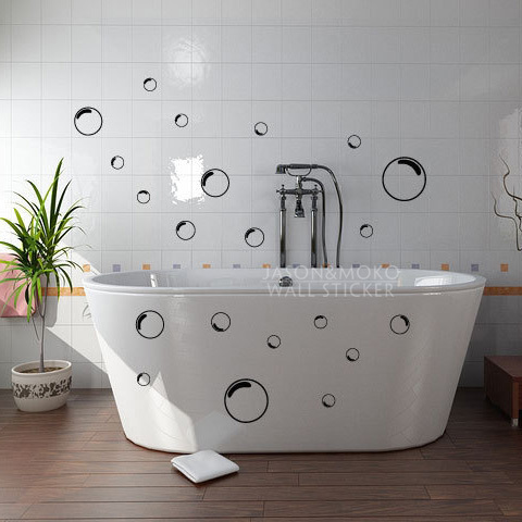 Wall Sticker For Shower Font B Tile B Font Stickers In The Bathroom MEMEs