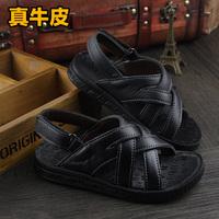 Children shoes 2014 child sandals boys shoes child sandals genuine leather child sandals baby sandals