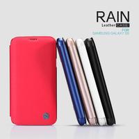 Nillkin Rain Series leather Case for samsung galaxy s5 g900, protective case for samsung galaxy s5 g900