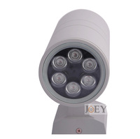 Led outdoor wall lamps 6w ip65  cree led wall light  columbia outdoor porch lights garden downlight   220v 1017-1x6