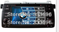 Car DVD Player  For BMW 3 Series E46 M3 318i 320i with GPS Navigation RDS Bluetooth Radio TV Map USB AUX SWC Stereo Audio Video