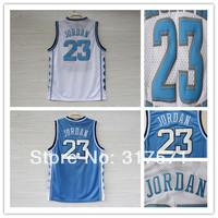 Cheap 23 Michael Jordan North Carolina Jersey White  Blue Rev 30 New Material Basketball Jerseys Free Shipping
