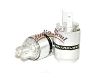 SONARQUEST SQ-SP28 Silver plated US AC power plug & SQ-SC28 IEC connector with box pair free shipping