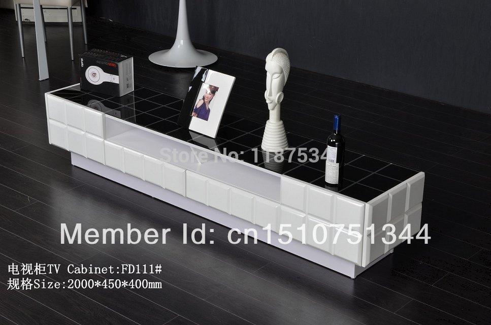 woonkamer meubels witte hoogglans mdf TV-standaard tv-meubel TV-meubel ...
