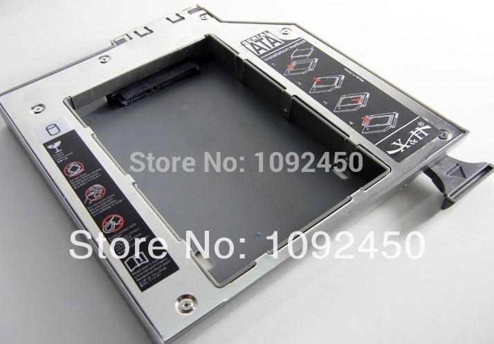 SATA to SATA 2nd HDD Hard Drive caddy for DELL D600 D610 D620 D630 D800 D810 D820 D830 D8100 D5100(China (Mainland))