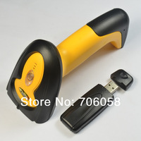 Wireless barcode scanner/wireless barcode gun wireless laser scanner/433M wireless channel/plug and play/with memory