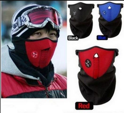 300pcs/lot.DHL free.Neoprene Neck Warm Cycling Outdoor Sport Mask & Winter Ski Mask & Warm Half Face Mask For Cycling mask(China (Mainland))