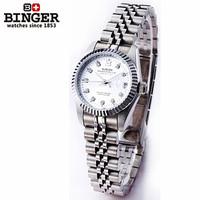 2014 New Arrival Luxury Lady Rhinestone Wristwatch Fashion Shining CZ Diamond Girl Dress Watch Small Dial Automatic Watches