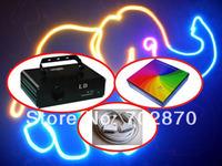 850mW RGB Animation laser 1w optional 20kpps ILDA DMX 512 DJ Party Disco Club Bar stage Light+V2.3 ishow software+10m ILDA cable