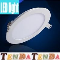 10pcs Freeshipping3w/4W/6W/9W/12W/15W/18W SMD2835 led panel lighting  AC85-265V,Warm /Cool white,lighting
