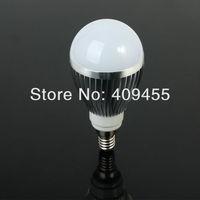 Wholesale (10pieces/lot) E14 AC85-265V Led Bulb 3w 4w 5w 6w 7w 9w Warm White light /White light LED Lighting Bulb Lamp