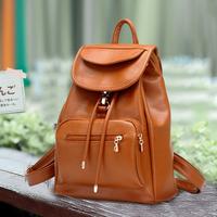 Stone women's handbag preppy style all-match PU  student school bag fashion travel bag