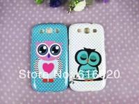 1 x Cute Branch Tree Big Eyes OWL TPU Back Case Samsung Galaxy SIII S3 I9300
