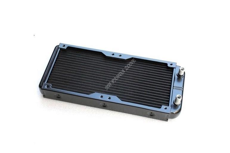 Grátis frete 257 x 120 x 30 MM 240 radiador de alumínio água de resfriamento do bloco para CPU Cooler do dissipador(China (Mainland))